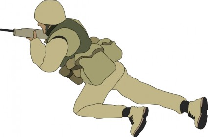 crawling_soldier_clip_art_23409