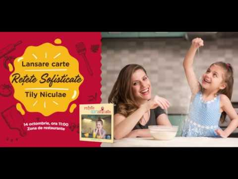 Tily Niculae @ Shopping City Sibiu / lansare de carte